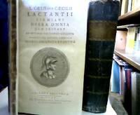 L. Coelii sive Caecilii Lactantii Firmiani Opera omnia quae exstant, ad optimas editiones...