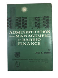 Administration and Management of Barrio Finance