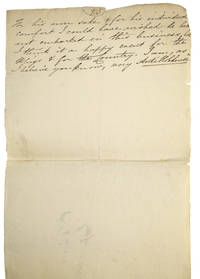 Fragment of Autograph Manuscript