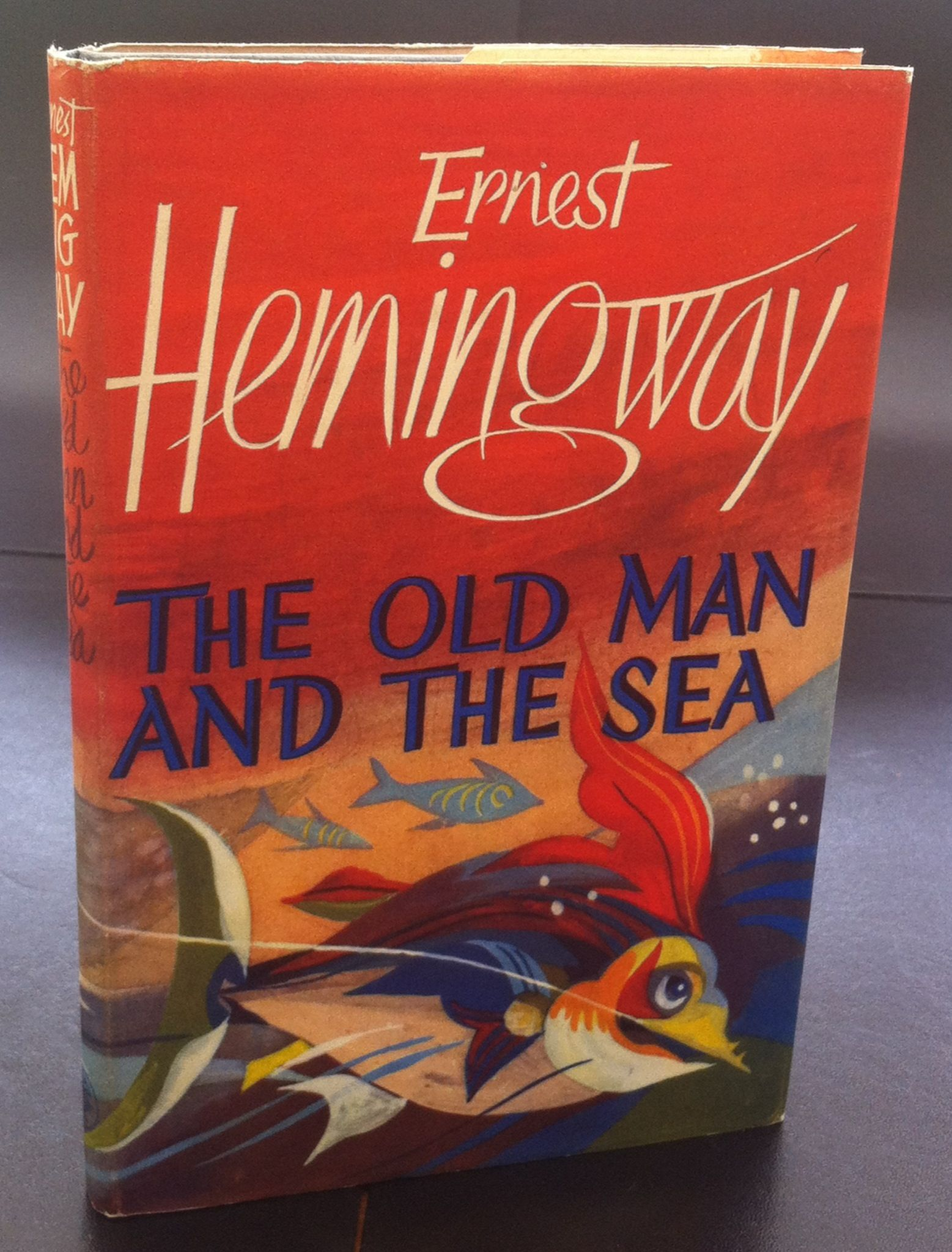 a comprehensive analysis of the old man and the sea by ernest hemingway The old man and the sea is a short novel (novella) about an elderly cuban   ernest hemingway is believed to have based the plot of the old man and the sea  on a story  however, this straightforward style often conveys complex themes  in.