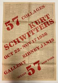57 collages: Kurt Schwitters. Oct 22-Nov 17 1956 [poster]