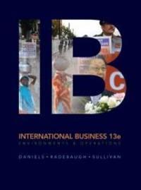 International Business (13th Edition)