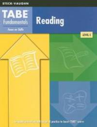 TABE Fundamentals: Test Workbooks Reading Reading