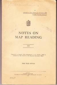 Notes on Map Reading