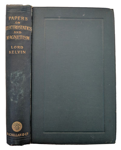 London:: Macmillan, 1884., 1884. Second edition. 8vo. xv, , 592 pp. Figs., 3 plates (2 folding), ind...