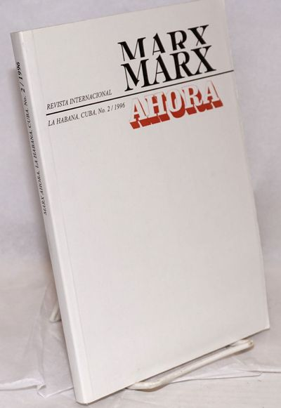 Havana: Ed. de Ciencias Sociales, 1996. 206p., very good paperback. Single issue of the Spanish-lang...