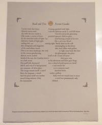 Road and Tree (Broadside Poem)