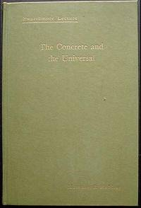 image of The Concrete and the Universal [Swarthmore Lecture]