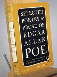The Selected Poetry and Prose of Edgar Allen Poe by  ed T. O. Mabbott - Hardcover - Reprint.  - 1951 - from Henniker Book Farm and Biblio.com
