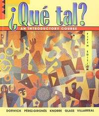 Que Tal: An Introductory Course