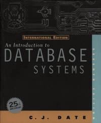 image of An Introduction to Database Systems: International Edition (World Student S.)
