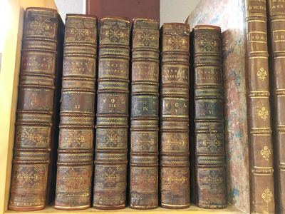 Oxford: Printed at the Theatre, 1744. First Edition Thus. Hardcover. Quartos, 6 volumes; VG; bound i...