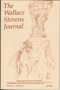 The Wallace Stevens Journal : Volume 13, Number 2, Fall 1989