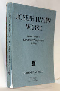 image of Werke: Works; Reihe 1, Band 18, 4. Folge: Series 1, Volume 18, Londoner Symphonien 4th part;: London Symphonies: 4th part