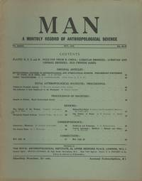 Man : A Monthly Record of Anthropological Science, Volume XXXIII, Nos. 84-98 (May 1933)