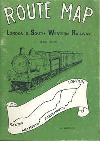 Route Map of London and South Western Railway Main Lines