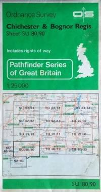 image of Pathfinder Maps: Chichester and Bognor Regis Sheet 1305 (SU80/90)