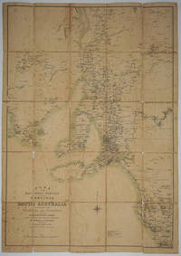 Plan of the Southern Portion of the Province of South Australia as Divided into Counties and Hundreds Showing Agricultural Areas, Post Towns, Telegraph Stations, Main Roads and Railways; Compiled from Official Documents