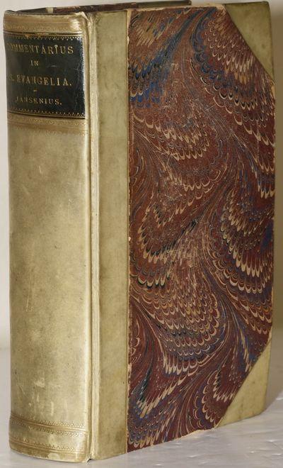 Mechliniae: Typis P.-J. Hanicq, 1825. Half Leather. Very Good binding. A clean copy of Jansenius' co...