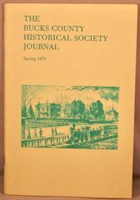image of Bucks County Historical Society Journal, Spring 1979.
