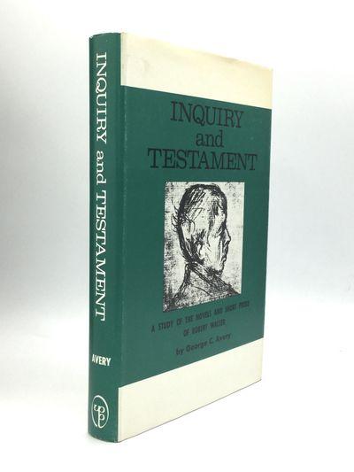 Philadelphia: University of Pennsylvania Press, 1968. First Edition. Hardcover. Fine/Near fine. The ...