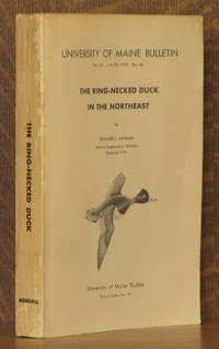 THE RING-NECKED DUCK IN THE NORTHEAST, UNIVERSITY OF MAINE BULLETIN, VOL. LX