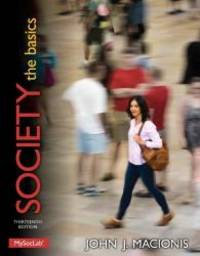 image of Society: The Basics PLUS NEW MySocLab with Pearson eText -- Access Card Package (13th Edition) (Macionis Sociology & Society Series)