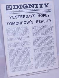 image of Dignity: a national publication of the Gay Catholic Community; vol. 6, #10, October 1975: Yesterday's hope, tomorrow's reality