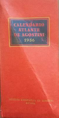 Calendario atlante De Agostini 1956