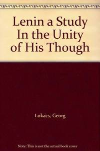 image of Lenin: A Study in the Unity of His Thought