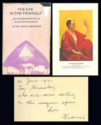 THE EYE IN THE TRIANGLE. An Interpretation of Aleister Crowley. Inscribed