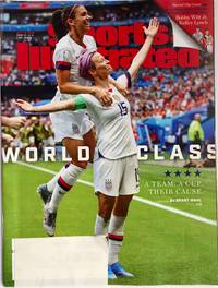 Sports Illustrated Magazine (July 15, 2019) FIFA Women's World Cup Golden Boot and Golden Ball winnersMegan Rapinoe and Alex Morgan