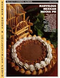 image of McCall's Cooking School Recipe Card: Pies, Pastry 31 - Mexican Chocolate  Pie : Replacement McCall's Recipage or Recipe Card For 3-Ring Binders :  McCall's Cooking School Cookbook Series