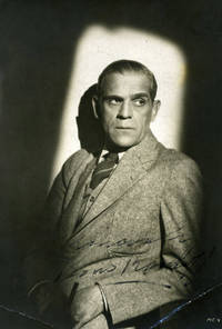 Boris Karloff Signed Photograph
