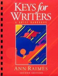 Keys for Writers : A Brief Handbook