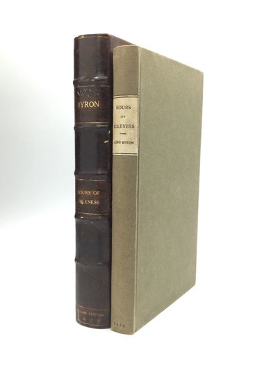 London: W.T. Sherwin, 1820. Hardcover. The sixth edition of Lord Byron's first volume of poetry. An ...