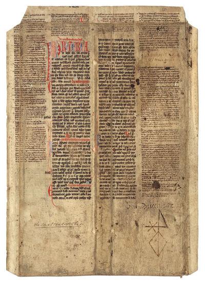 1234. medieval legal manuscript. Germany?, 1220-1234. medieval legal manuscript. Germany?, 1220-1234...
