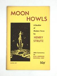 image of MOON HOWLS: A Booklet of Modern Verse, with Commentary by Elias Lieberman and Rockwell Kent