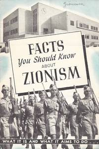 FACTS YOU SHOULD KNOW ABOUT ZIONISM: WHAT IT IS AND WHAT IT AIMS TO DO…