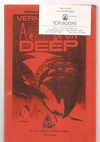 A FIRE UPON THE DEEP [A NOVEL FROM THE ZONES OF THOUGHT]