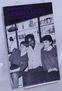 image of Common Lives/Lesbian Lives: a lesbian quarterly; #22, Spring 1987