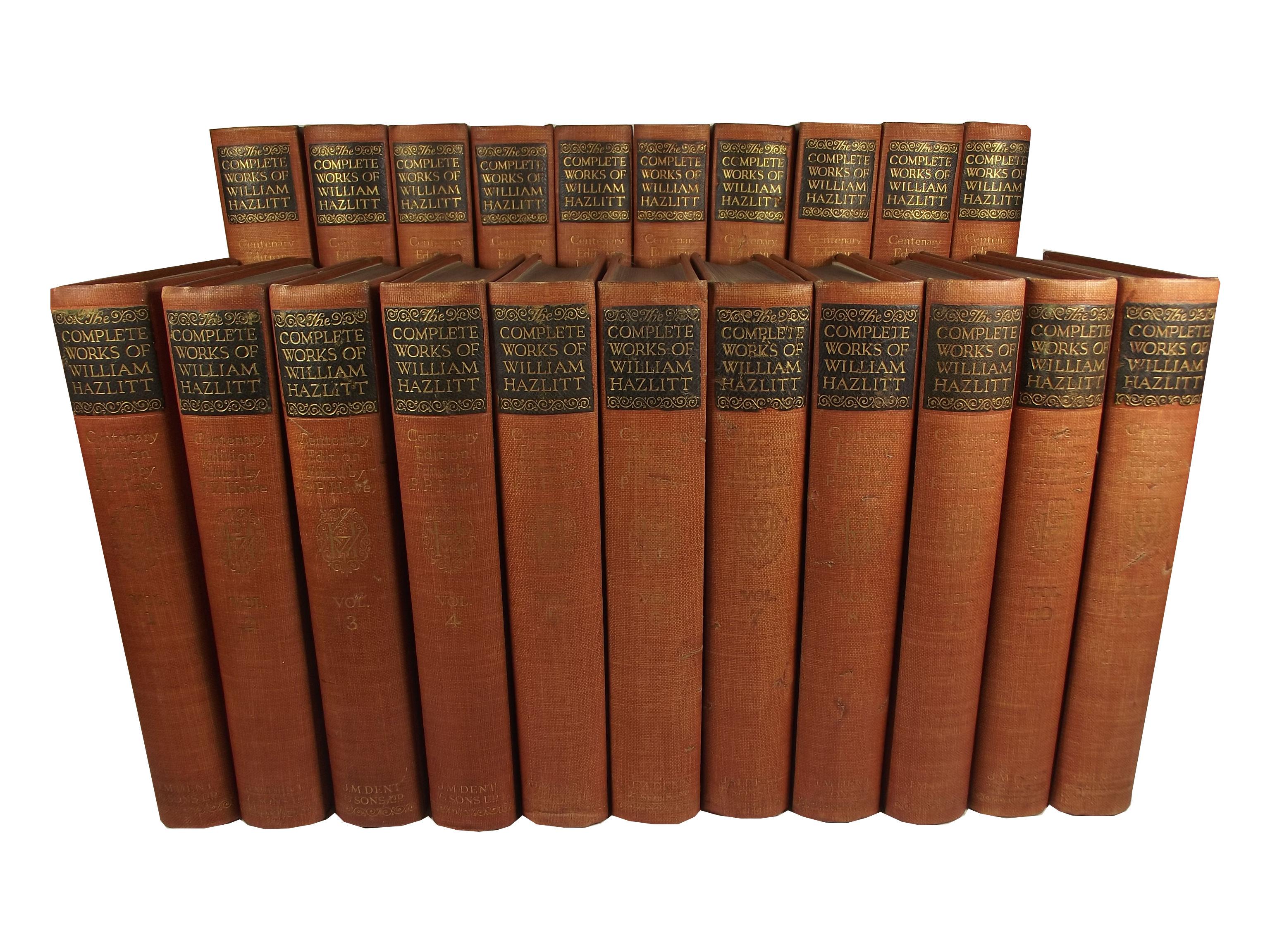 Twenty-two essays of william hazlitt