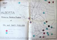 Two Large Fold-Out Geological Maps. 1. Alberta South of Tp. 92 Showing Relative Position of Oil and Gas Fields. 2. Central Alberta Foothills Showing the Location of Wells Being Drilled, Wells Suspended and Wells Completed