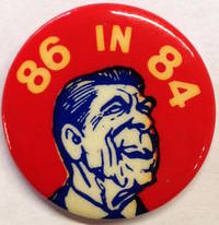 86 in 84 [pinback button]