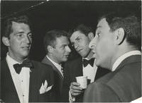 image of Original photograph of Dean Martin, Jerry Lewis, and Danny Thomas at the LA Examiner's Christmas Benefit, 1952