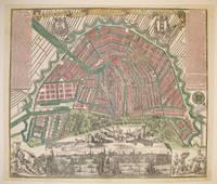 Amsterdam die Weltberühmte Haupt-und Handel Statt in Holland auf das neuest und accurateste eintworffen und verlegt