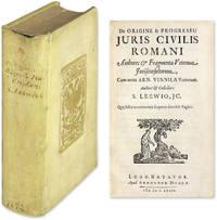 De Origine & Progressu Juris Civilis Romani, Authores & Fragmenta..