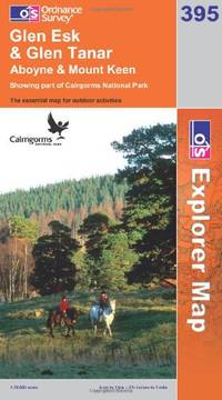 image of Glen Esk and Glen Tanar (OS Explorer Map Series)