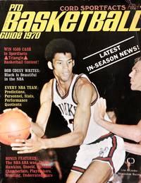 Cord Sportfacts Pro Basketball Guide 1970