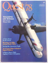 image of Quest/78 Magazine: The Pursuit of Excellence. July/August 1978. Vol. 2. No. 4